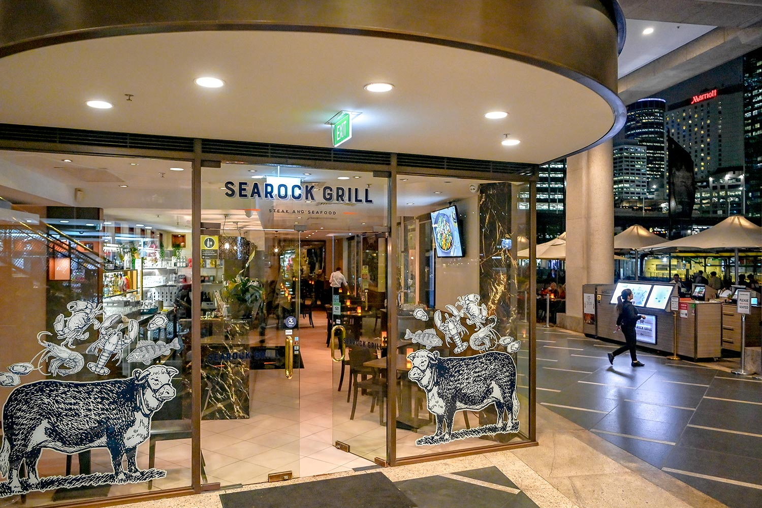 Searock Grill exterior entrance
